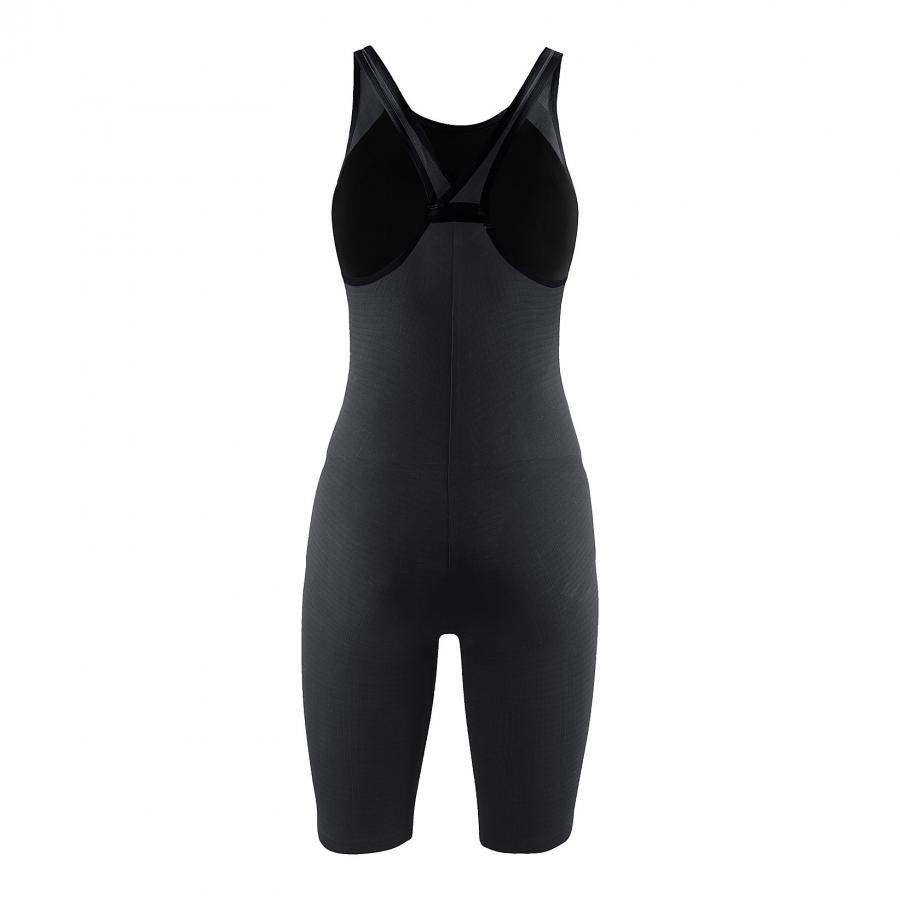 Arena Carbon Pro Closed Back Short Leg Suit - Dark Grey BACK
