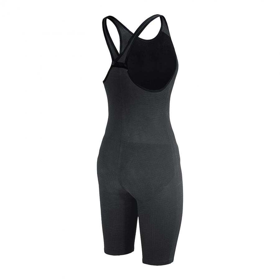 Arena Carbon Pro Closed Back Short Leg Suit - Dark Grey SIDE 2