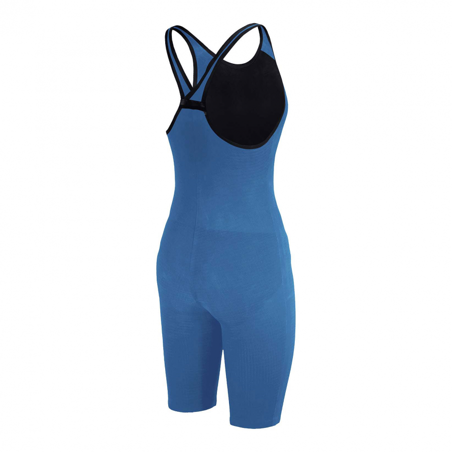 Arena Carbon Pro Closed Back Short Leg Suit - Royal Blue SIDE 2