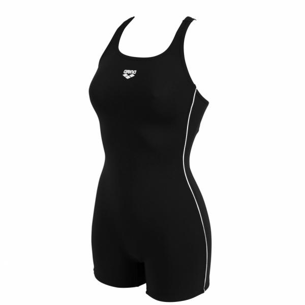Ladies Finding Black Legged Swimsuit