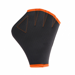 Arena Aquafit Gloves - Black / Nectarine