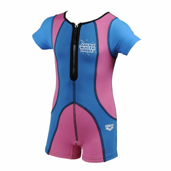Arena Warmsuit 50+ SPF UV - Pink/Blue (Age 3-4Y)