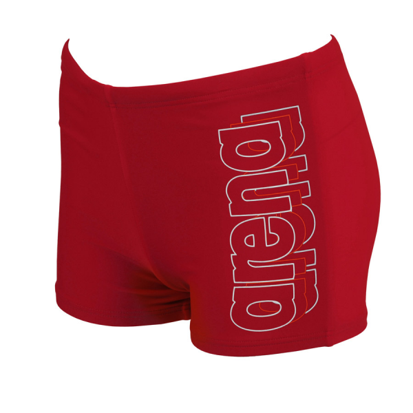 Arena Junior Swim Shorts - Bariga (Red)