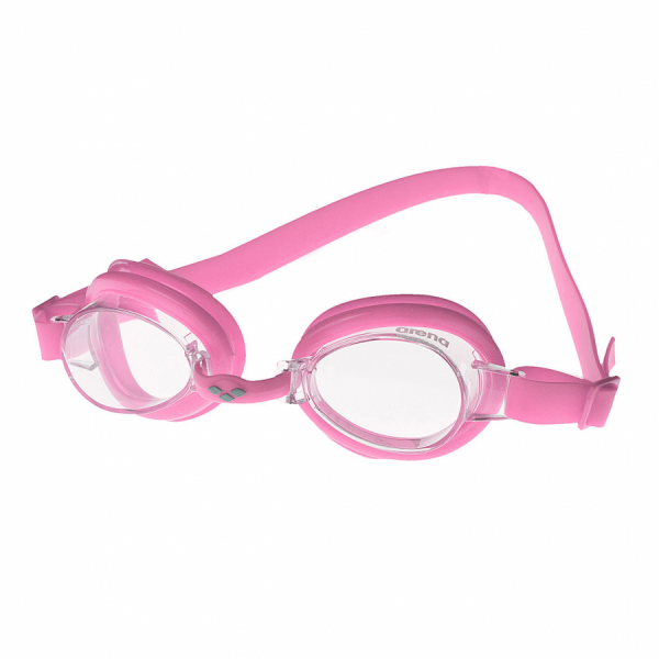 Arena Bubble 2 Junior  Swimming Goggles - Bubble Pink with Clear Lens