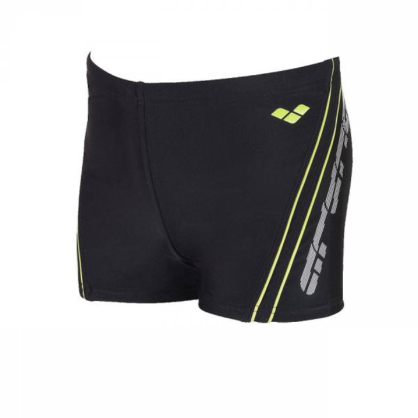 Arena Bystar Junior Swim Shorts (22cm) - Black / Pistache