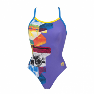 Arena Purple Swimsuit - Cameras