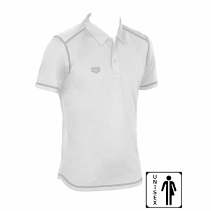 Unisex Arena Camshaft Polo Shirt - White