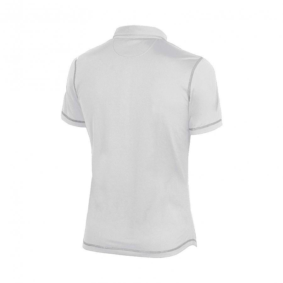 Unisex Arena Camshaft Polo Shirt - White