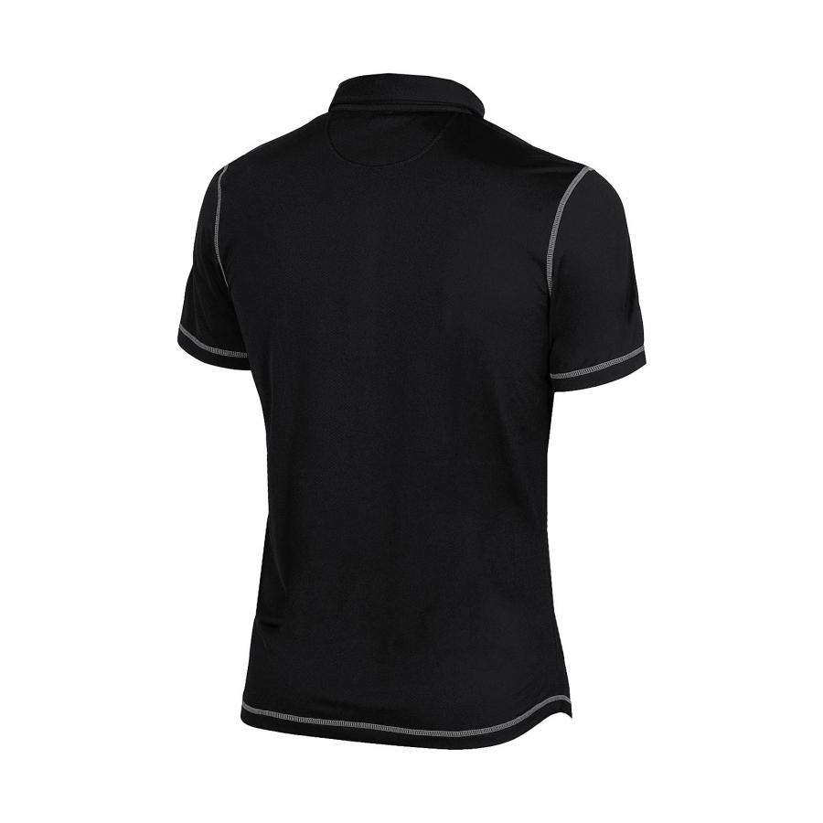 Unisex Arena Camshaft Polo Shirt - Black