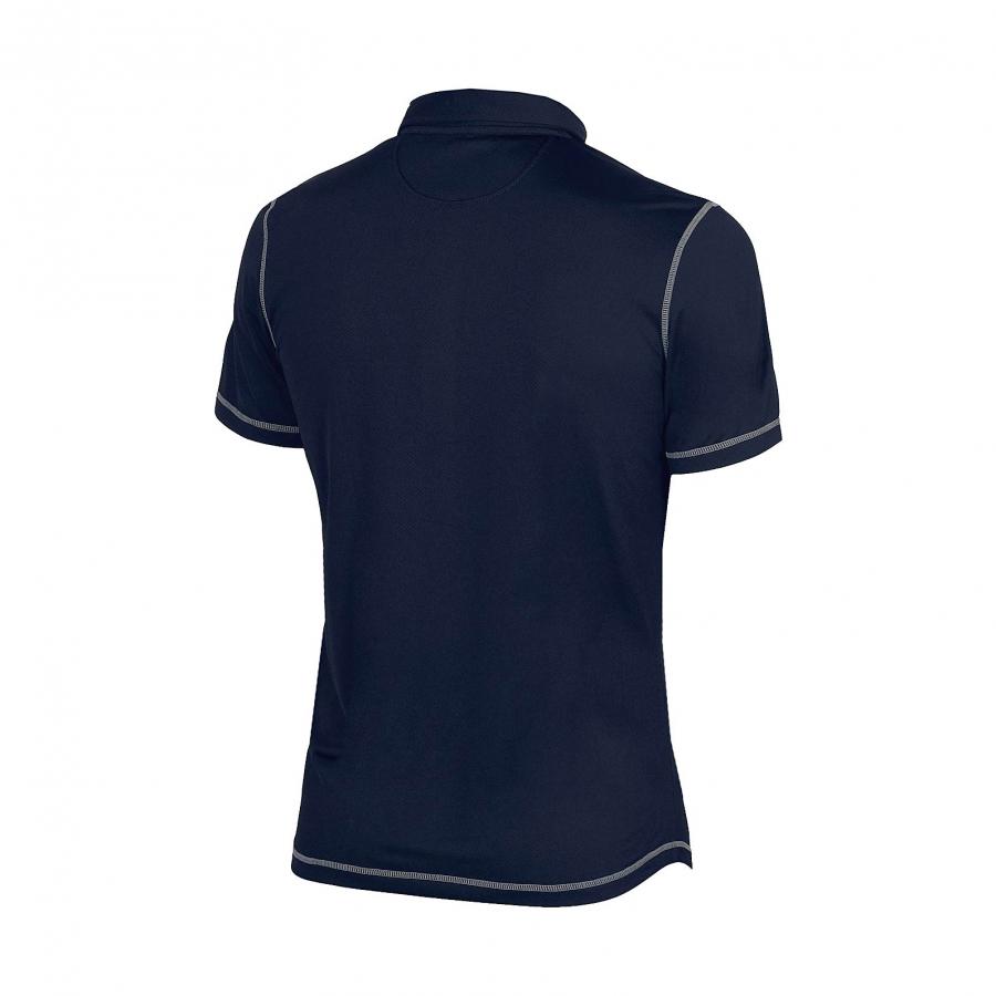 Unisex Arena Camshaft Polo Shirt - Navy BACK