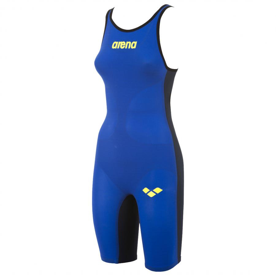 Buy Arena Carbon Air Open Back Suit - Blue