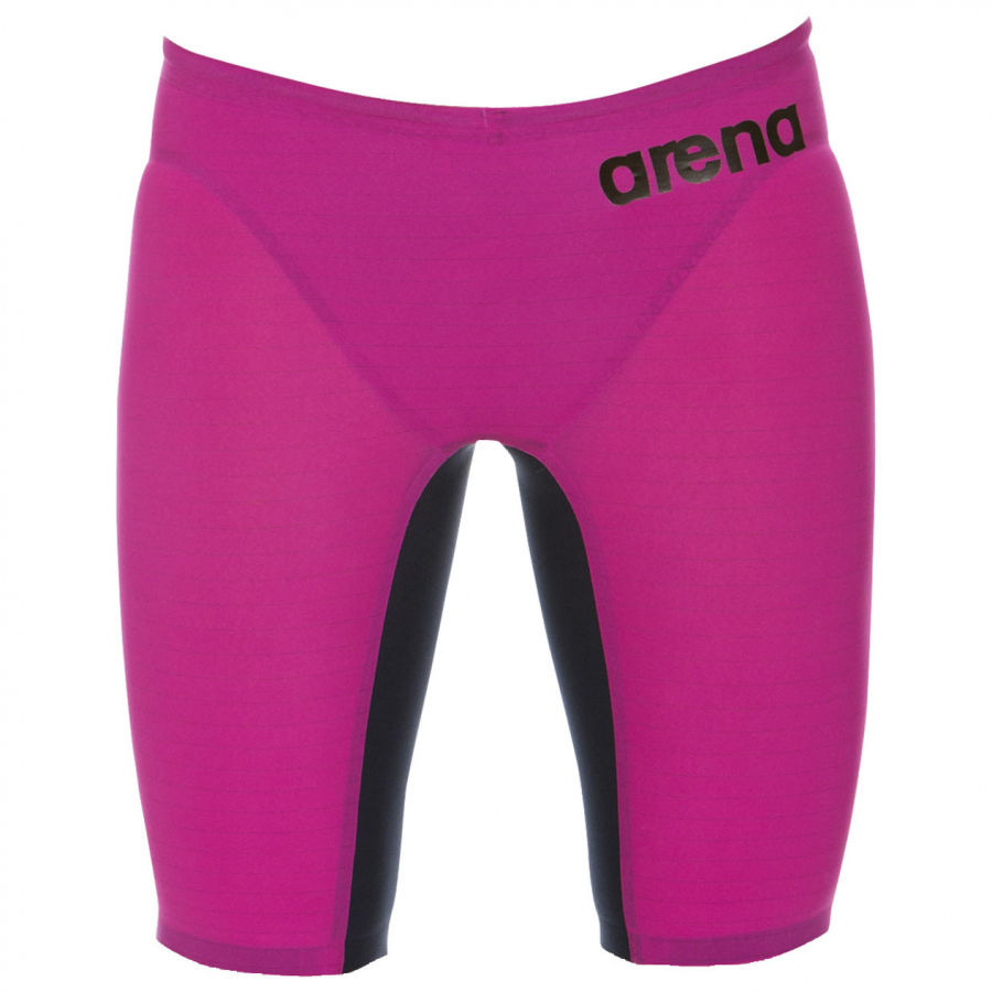 01d6e84748 Arena Pink Carbon Air Jammers (FINA approved)