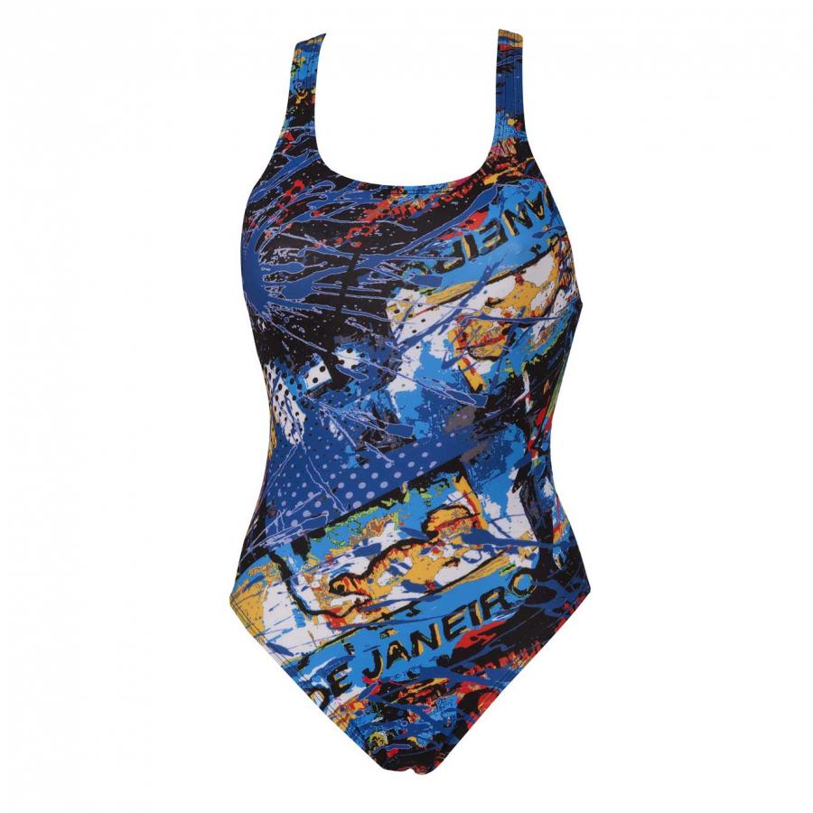 Arena Ladies Carioca One Piece Black Swimsuit