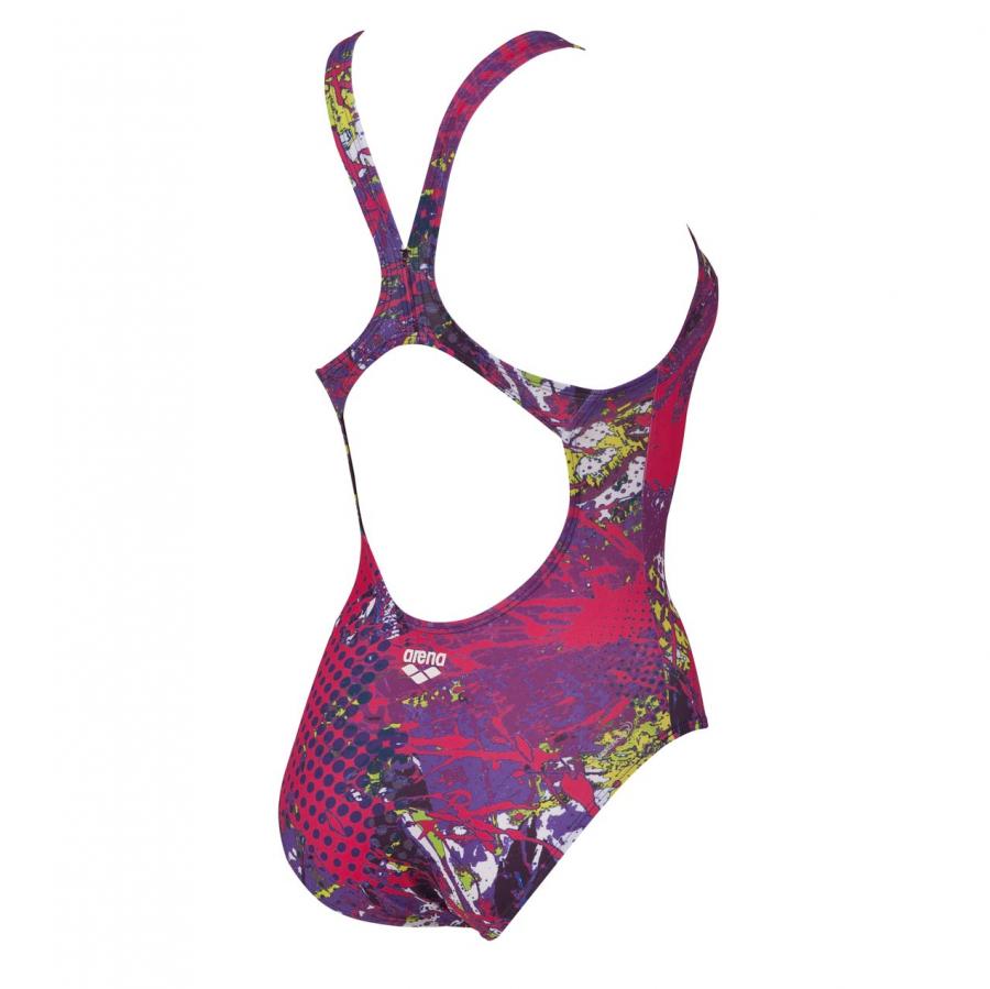Arena Ladies Carioca One Piece Purple Swimsuit