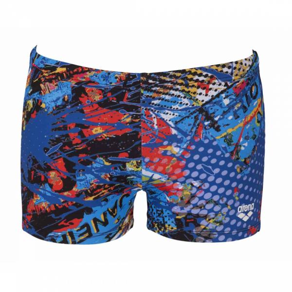 Mens Carioca Short black- blue