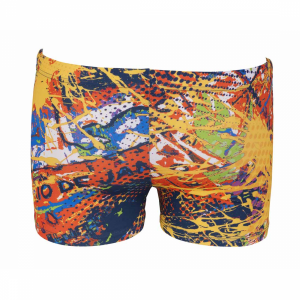 Mens Carioca Short blue - yellow