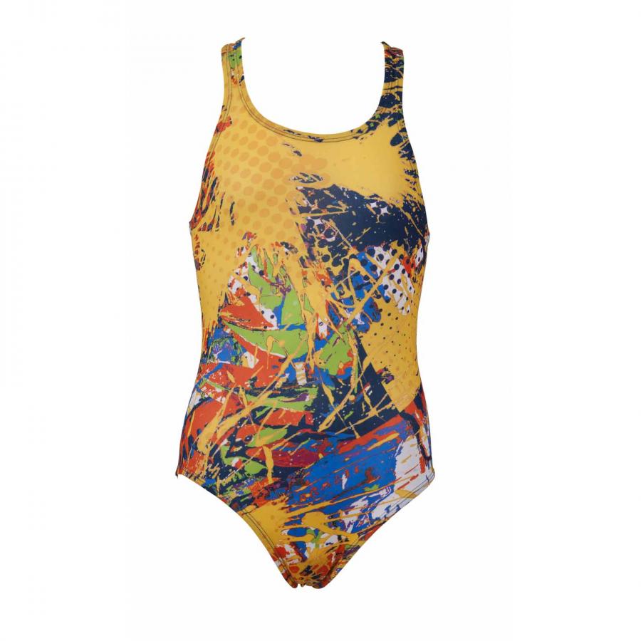 Carioca Arena Junior Swimsuit - Yellow