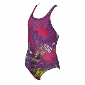 Carioca Arena Junior Swimsuit - Plum