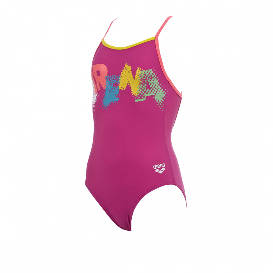 Arena Carnival Girls Pink Swimsuit