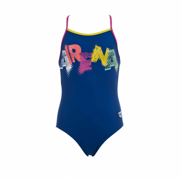 Arena Carnival Girls Blue Junior Swimsuit