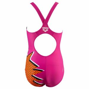 Buy girls pink swimsuit