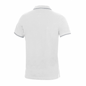 Unisex Arena Chassis Polo Shirt - Whiite BACK