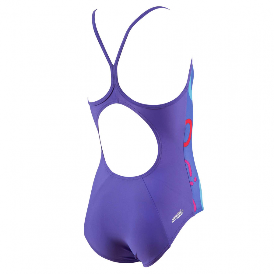 Buy girls purple swimsuit