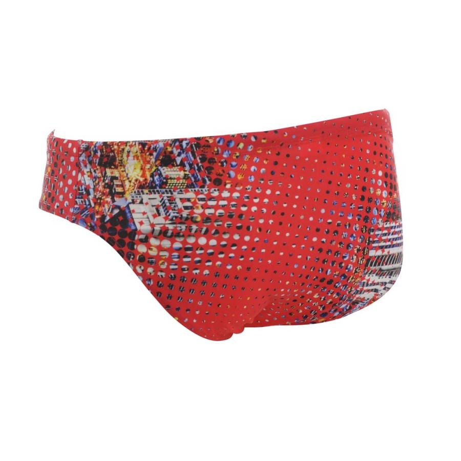 Arena Swim Briefs - City (Red)