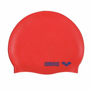Arena Classic Junior Swim Cap - Red