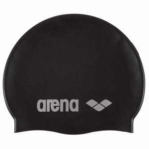 Arena Classic Silicone Swim Cap - Black