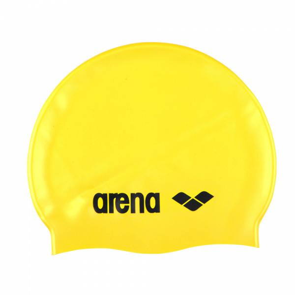 Arena Classic Silicone Swim Cap - Yellow