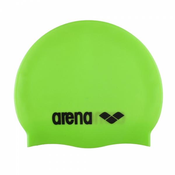 Arena Classic Silicone Swim Cap - Acid Lime