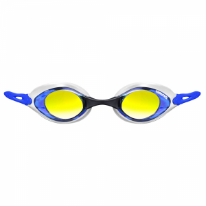 Arena Cobra Mirror Racing Goggles - Blue / White