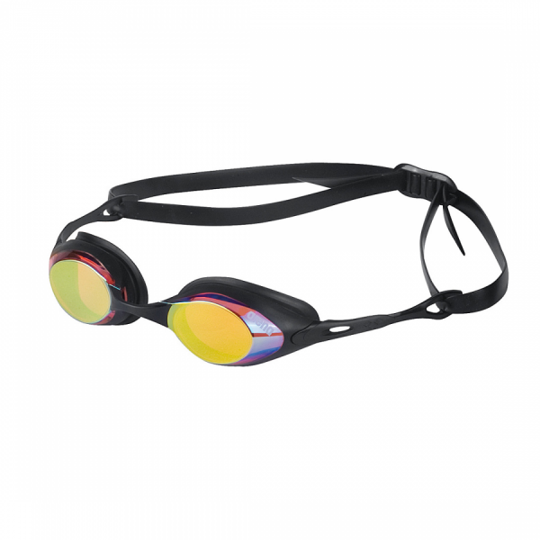Arena Cobra Mirror Racing Goggles - Red/Yellow Lens
