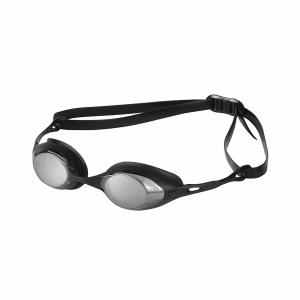 Arena Cobra Mirror Racing Goggles - Smoke/Silver Lens