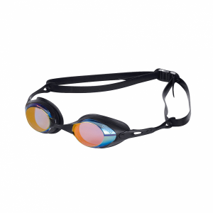 Arena Cobra Mirror Racing Goggles - Blue/Orange Lens