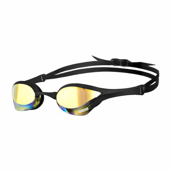 Blck Yellow Arena Cobra Ultra Mirror Racing Goggles