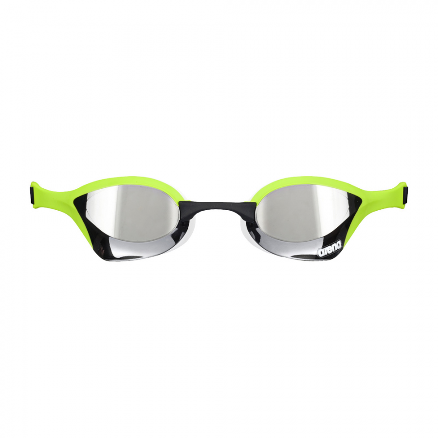 Buy Arena Cobra Ultra Mirror Racing Goggles - Silver / Green