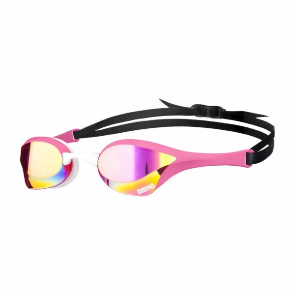 Pink Arena Cobra Ultra Mirror Racing Goggles