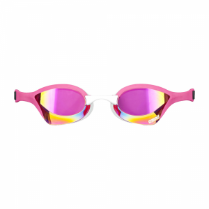 Shop Arena Cobra Ultra Mirror Racing Goggles - Pink / White