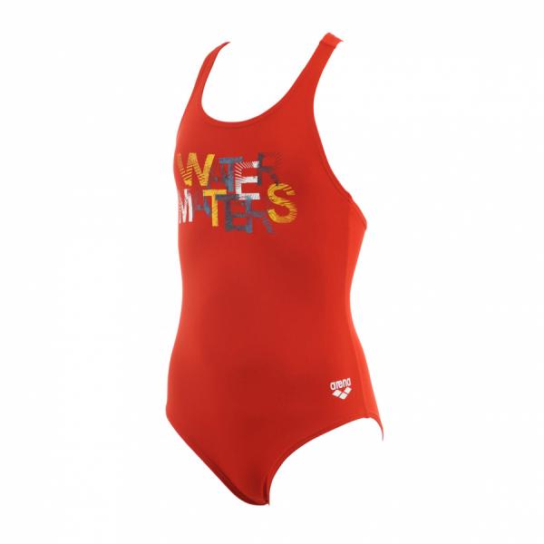 Arena Colourfull Junior Swimsuit - Red