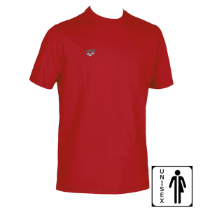 Unisex Arena Conkers T Shirt - Red FRONT