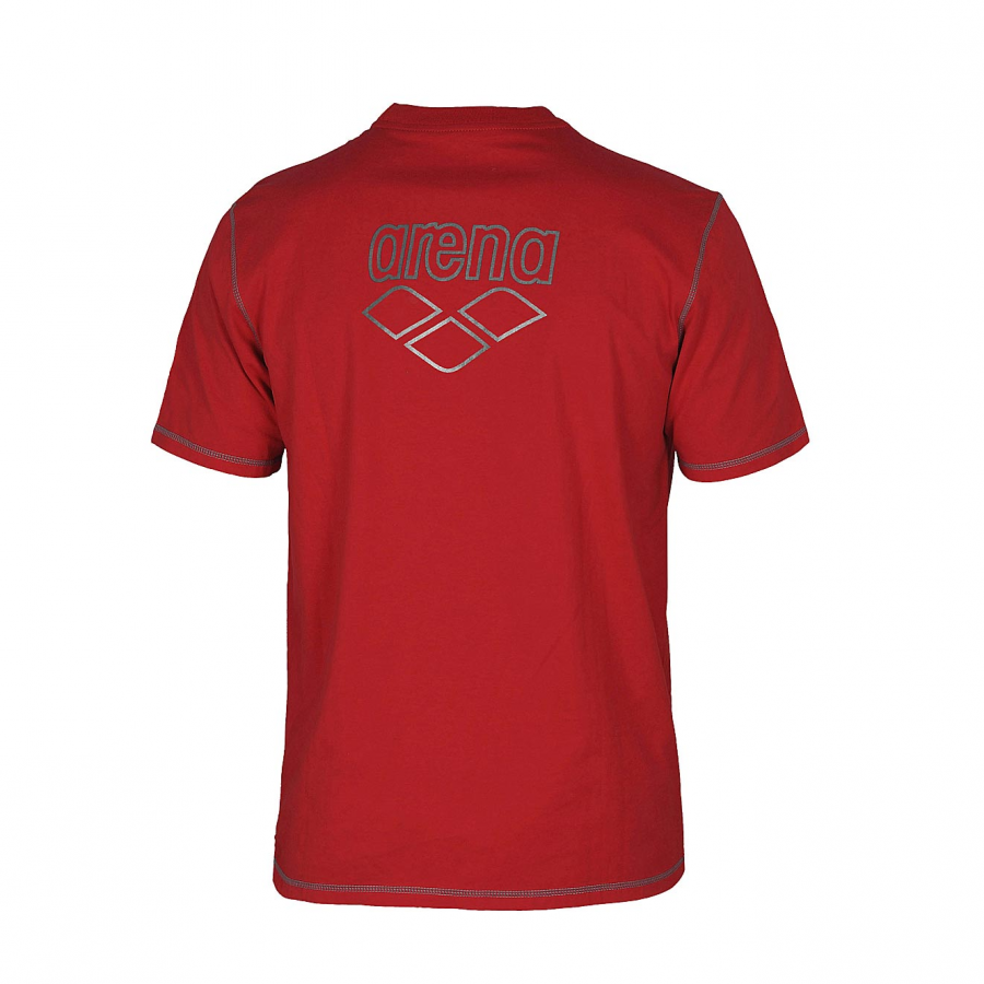 Unisex Arena Conkers T Shirt - Red BACK