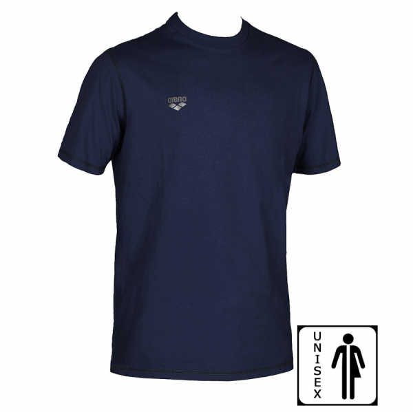 Unisex Arena Conkers Junior T Shirt - Navy FRONT