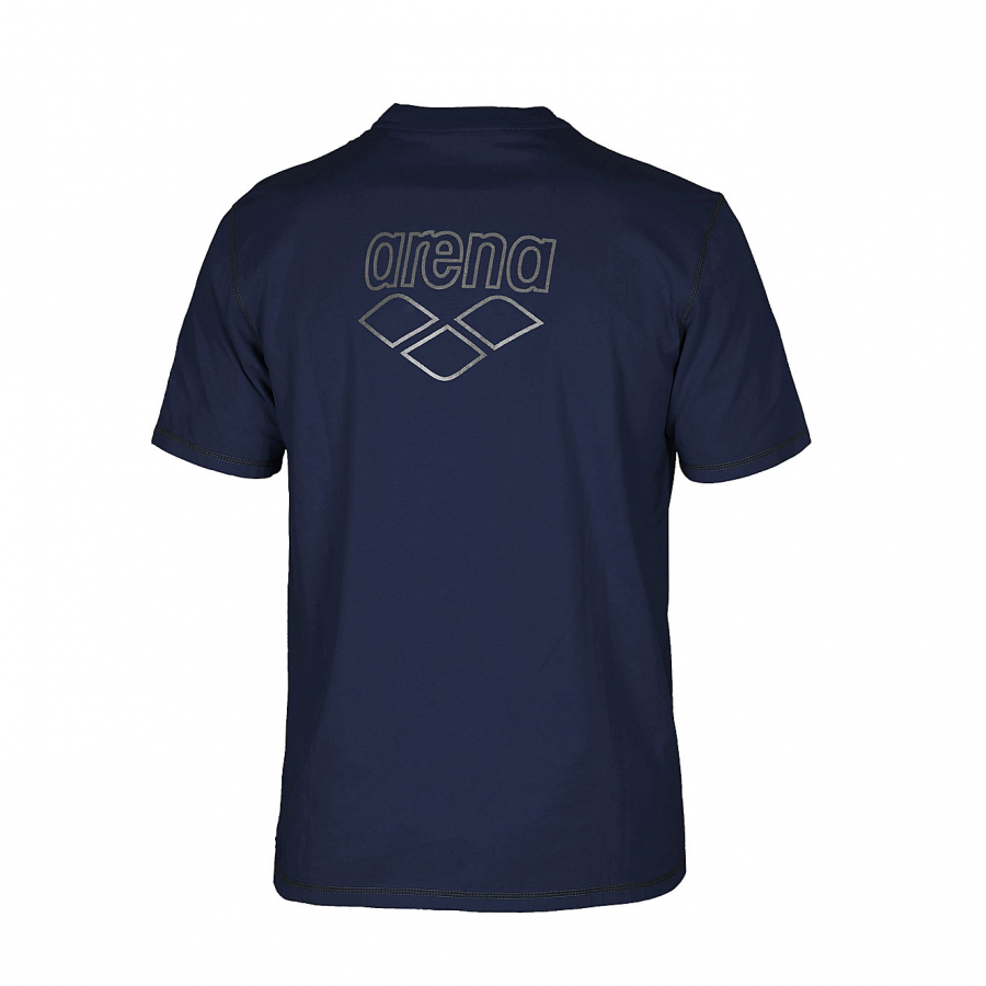 Unisex Arena Conkers T Shirt - Navy BACK