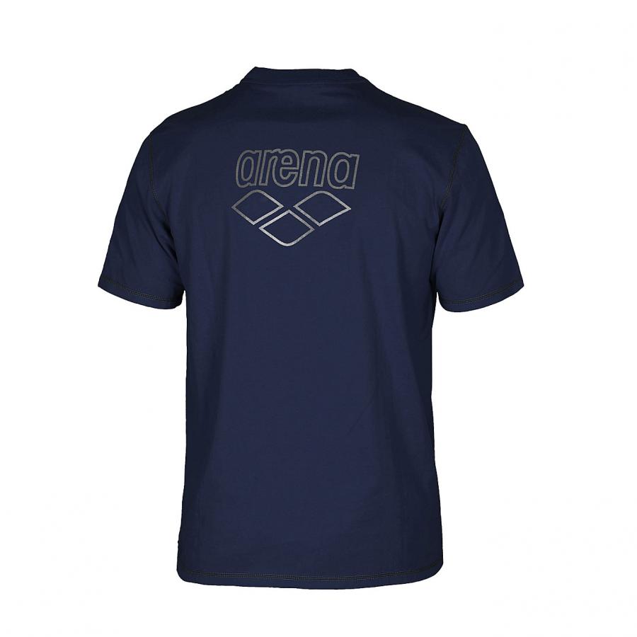 Unisex Arena Conkers Junior T Shirt - Navy BACK