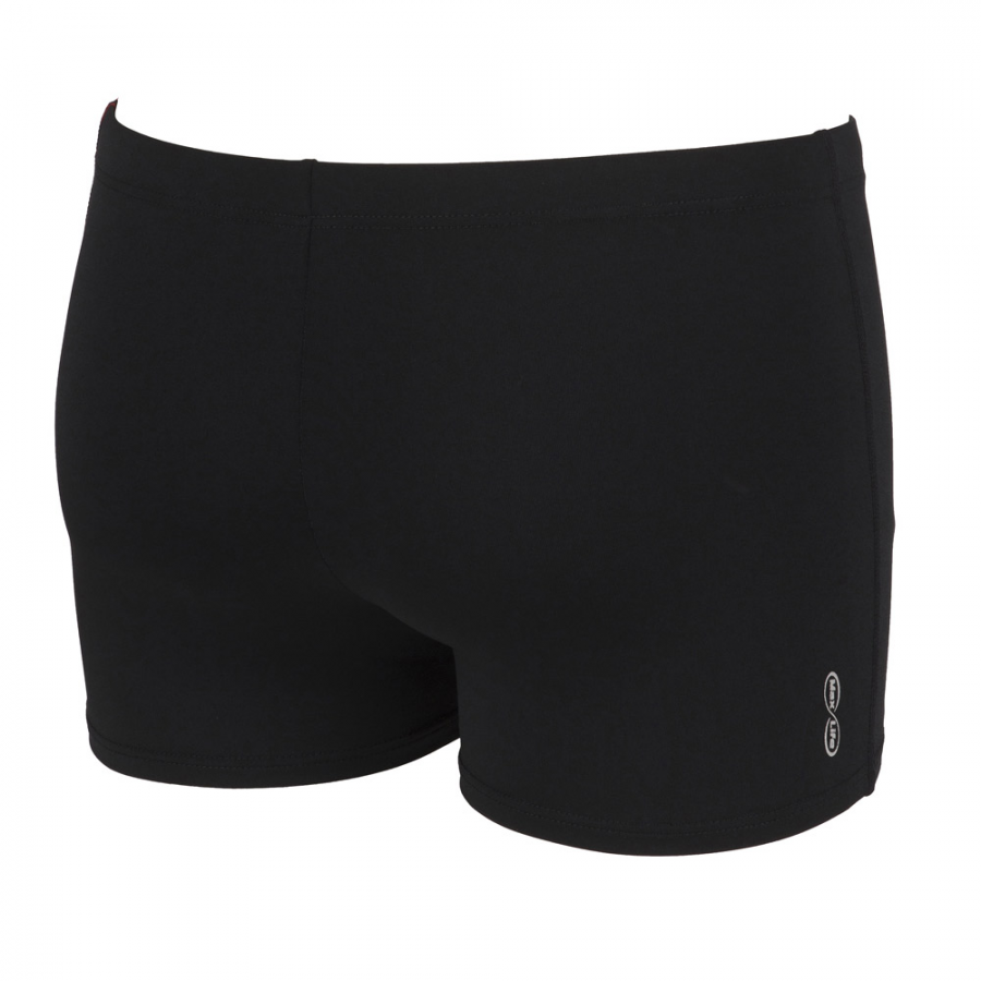 Crystal Arena Swim Shorts Black / Red