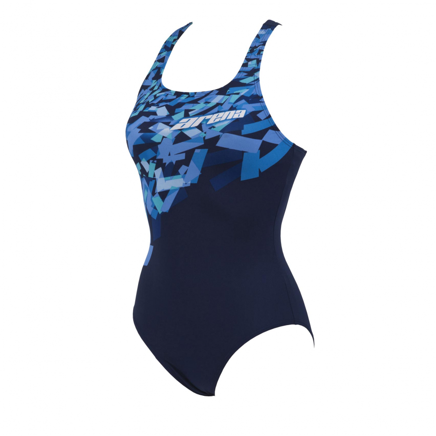 Arena 'Crystal' Blue Swimsuit