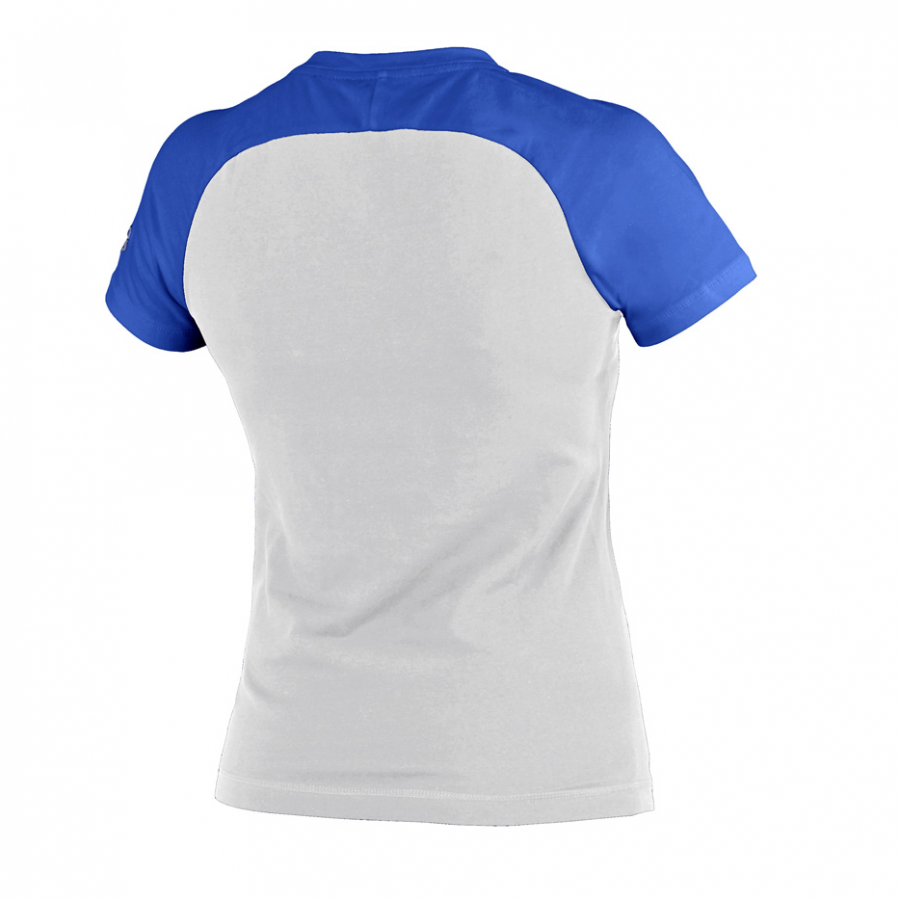 Ladies Arena Curby T Shirt - White / Royal