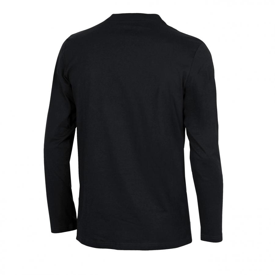 Unisex Arena Elfie Long Sleeved T Shirt - Black